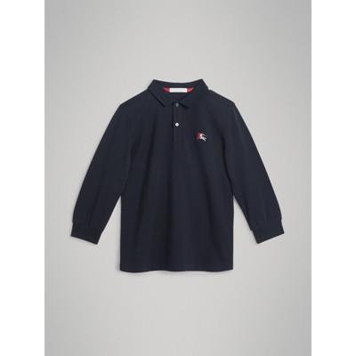 Crew Clothing Mens Padstow Pique Sweatshirt NavyWhite Drop Stripe