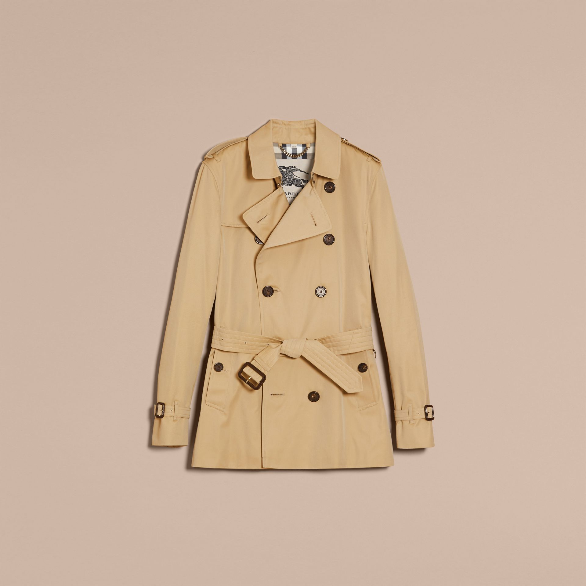 Miel The Kensington – Trench-coat Heritage court Miel - photo de la galerie 4