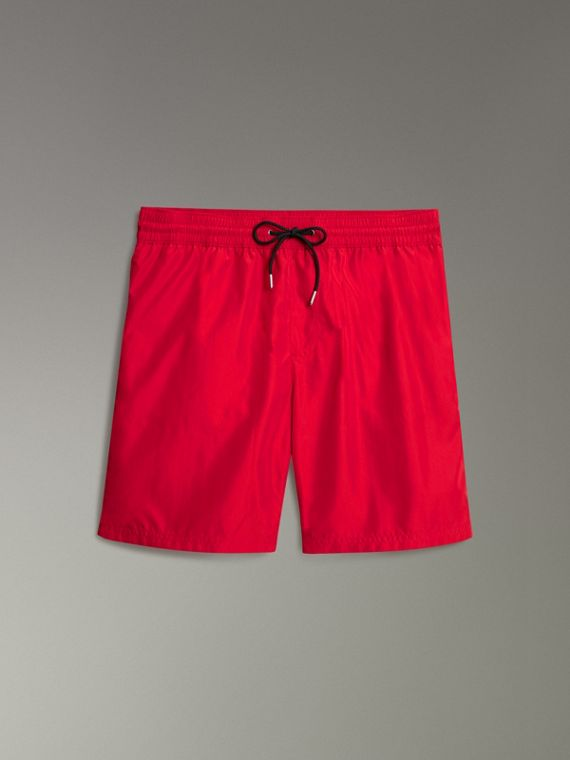 Drawcord Swim Shorts in Parade Red - Men | Burberry United States - cell image 3