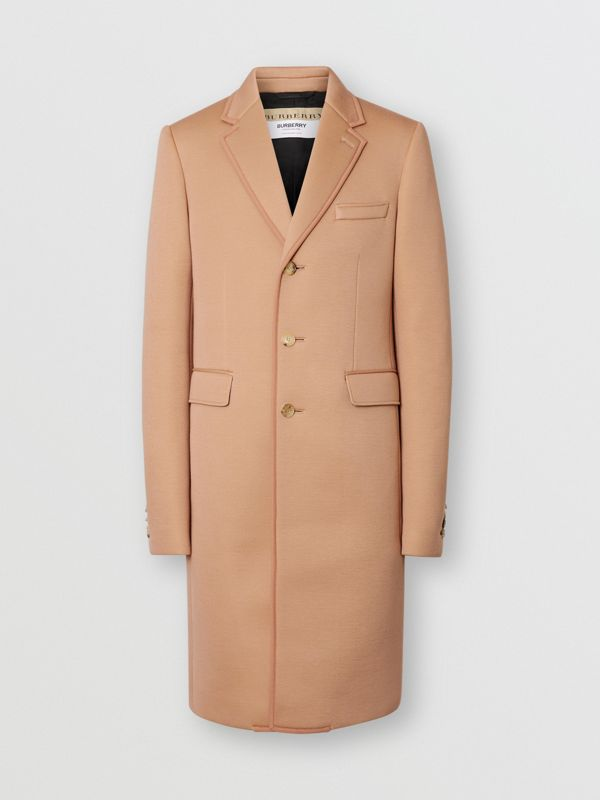 Neoprene Tailored Coat in Beige | Burberry Singapore - cell image 3