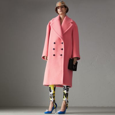 Double-faced Wool Cashmere Cocoon Coat