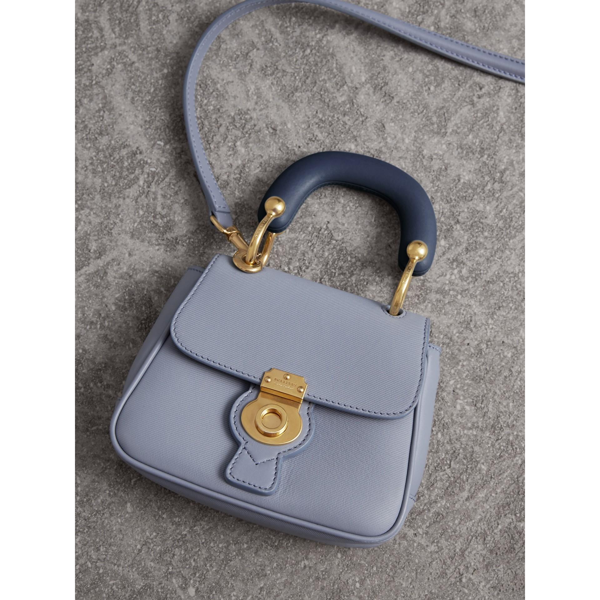 The Mini DK88 Top Handle Bag in Slate Blue - Women | Burberry - gallery image 7