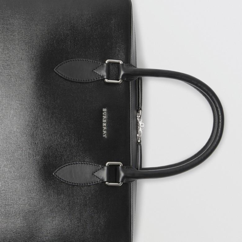 Burberry - Attaché-case en cuir London - 2