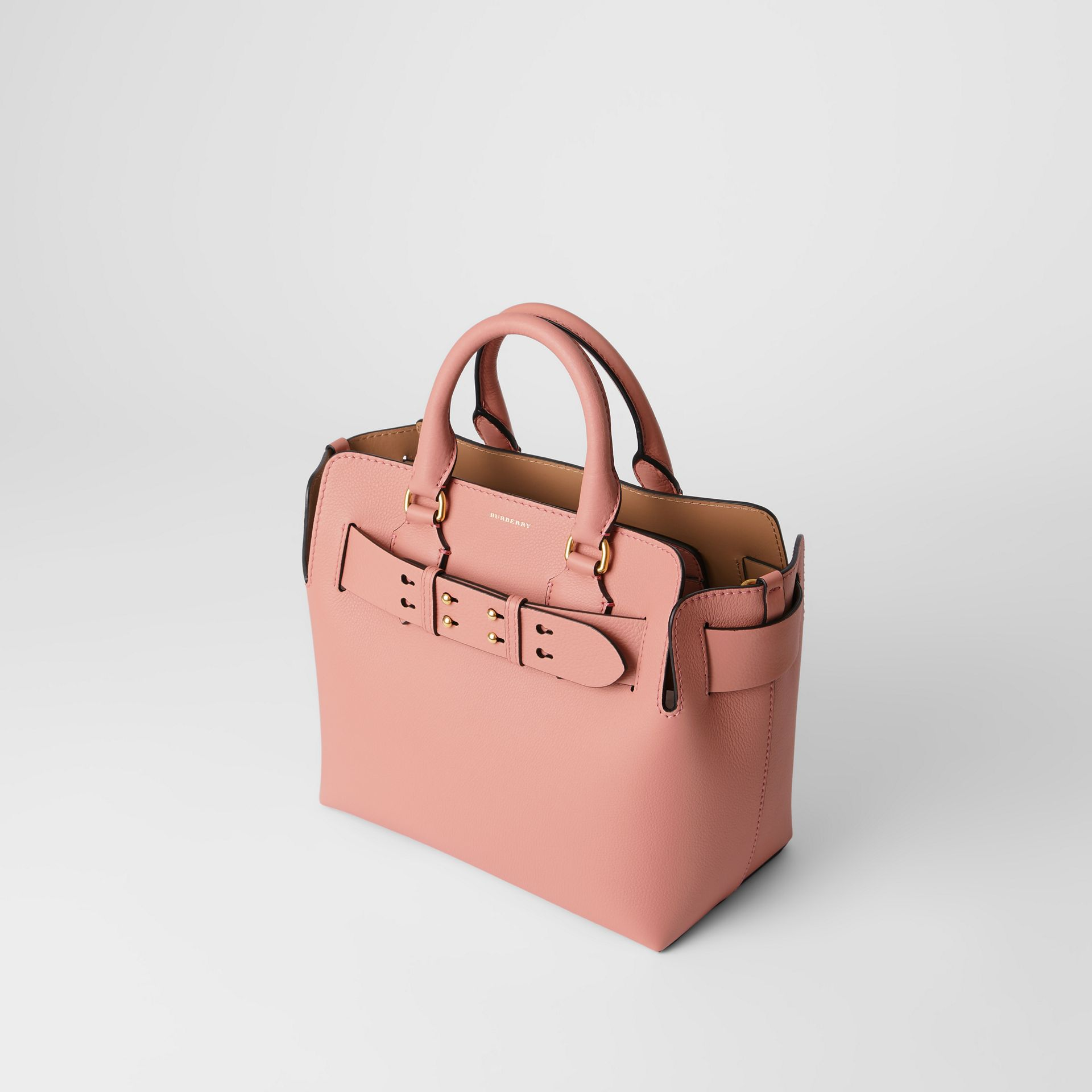The Small Leather Belt Bag in Ash Rose - Women | Burberry Canada - gallery image 4