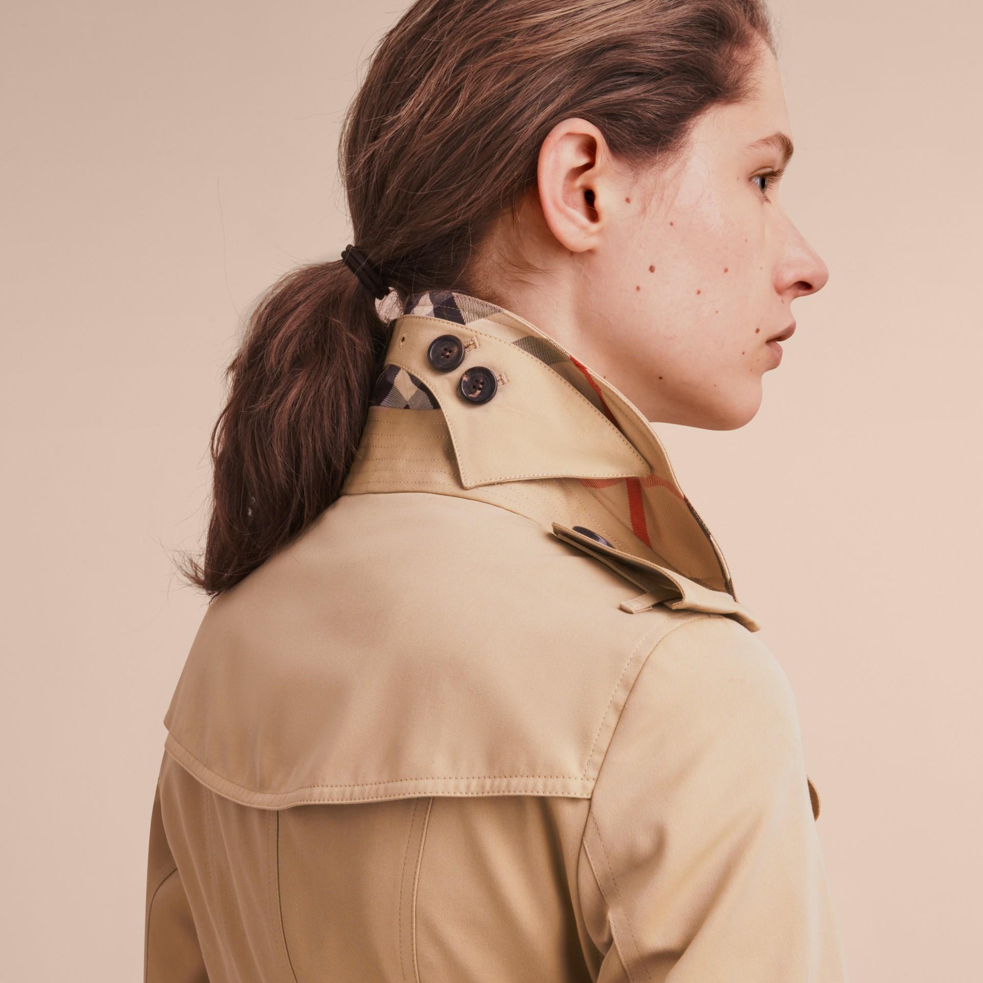 Mel The Sandringham - Trench coat Heritage longo Mel - galeria de imagens 6