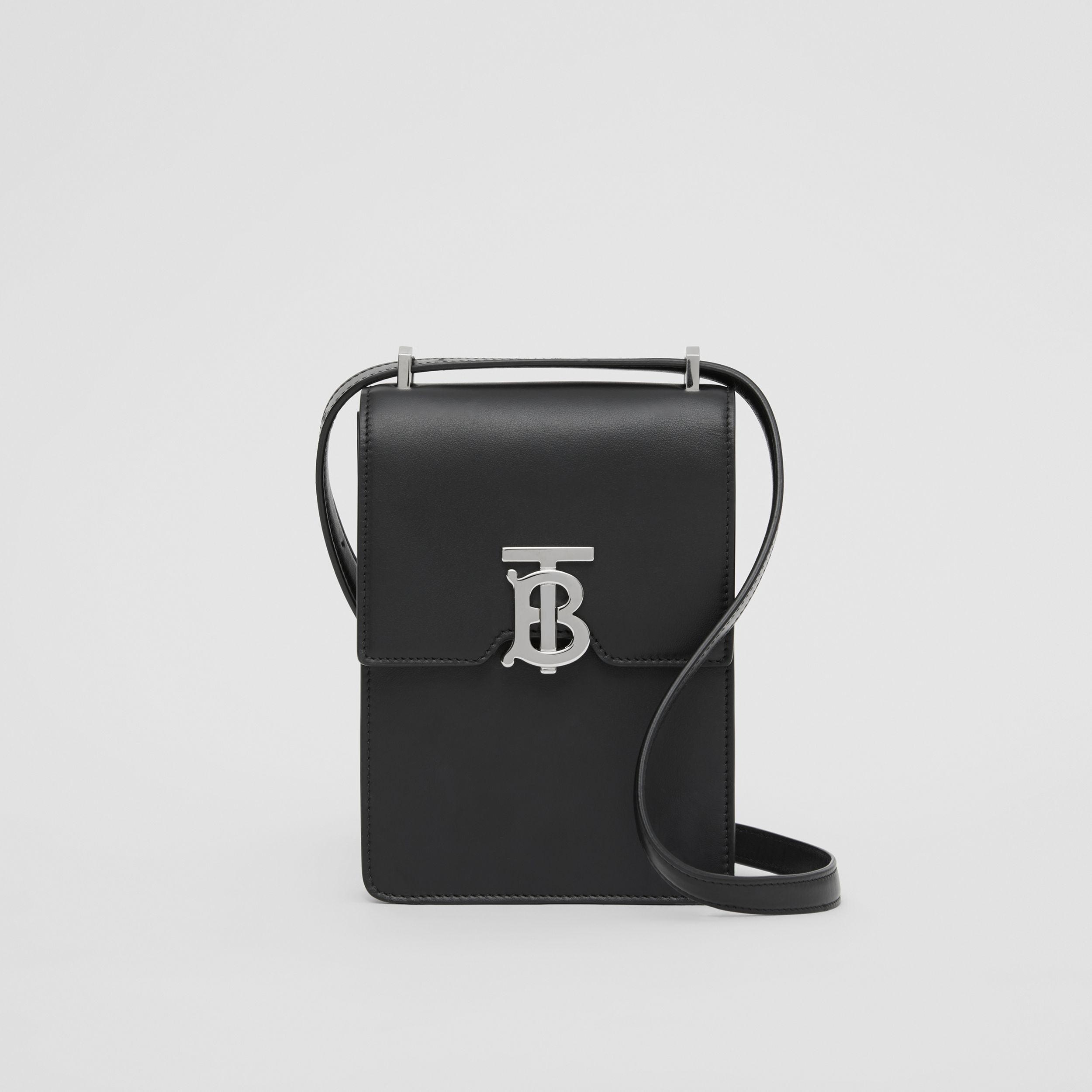 Leather Robin Bag in Black | Burberry Hong Kong S.A.R. - 1