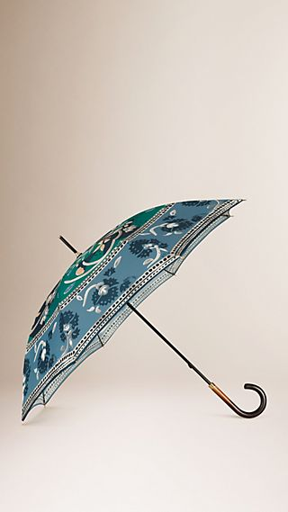 Rain or Shine Print Umbrella
