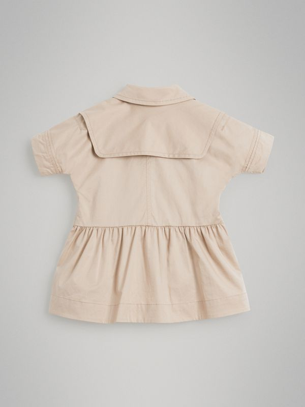 Robe trench en coton extensible (Miel) - Enfant | Burberry - cell image 3