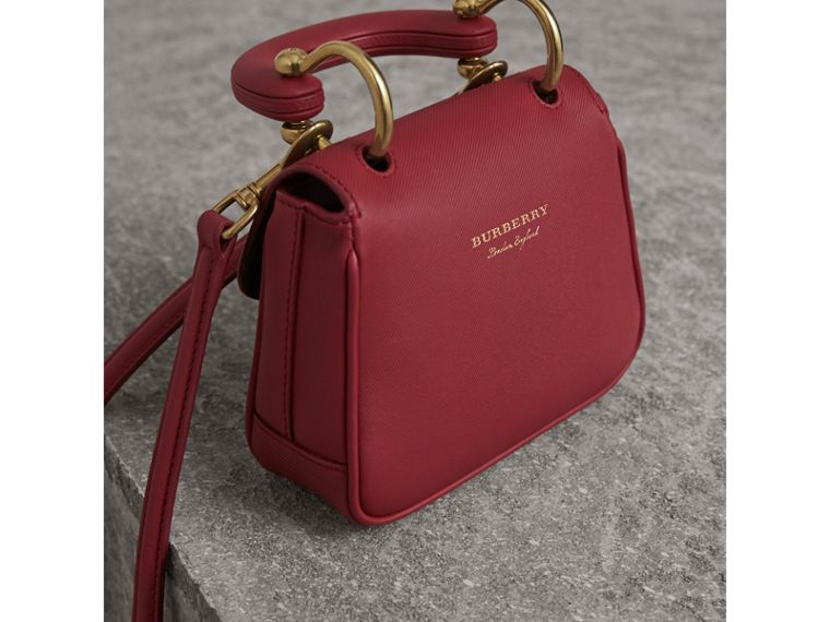 The Mini DK88 Top Handle Bag in Antique Red - Women | Burberry - cell image 4