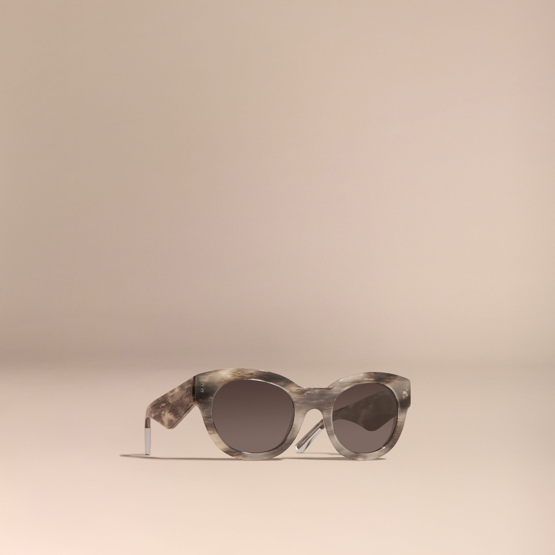Storm grey Cat-Eye Sunglasses Storm Grey - gallery image 1