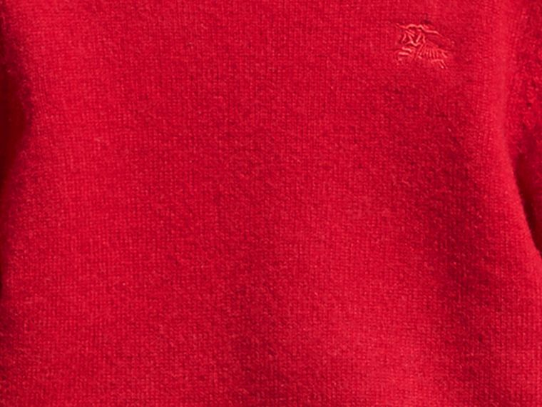 Parade red Check Detail Cashmere Sweater Parade Red - cell image 1