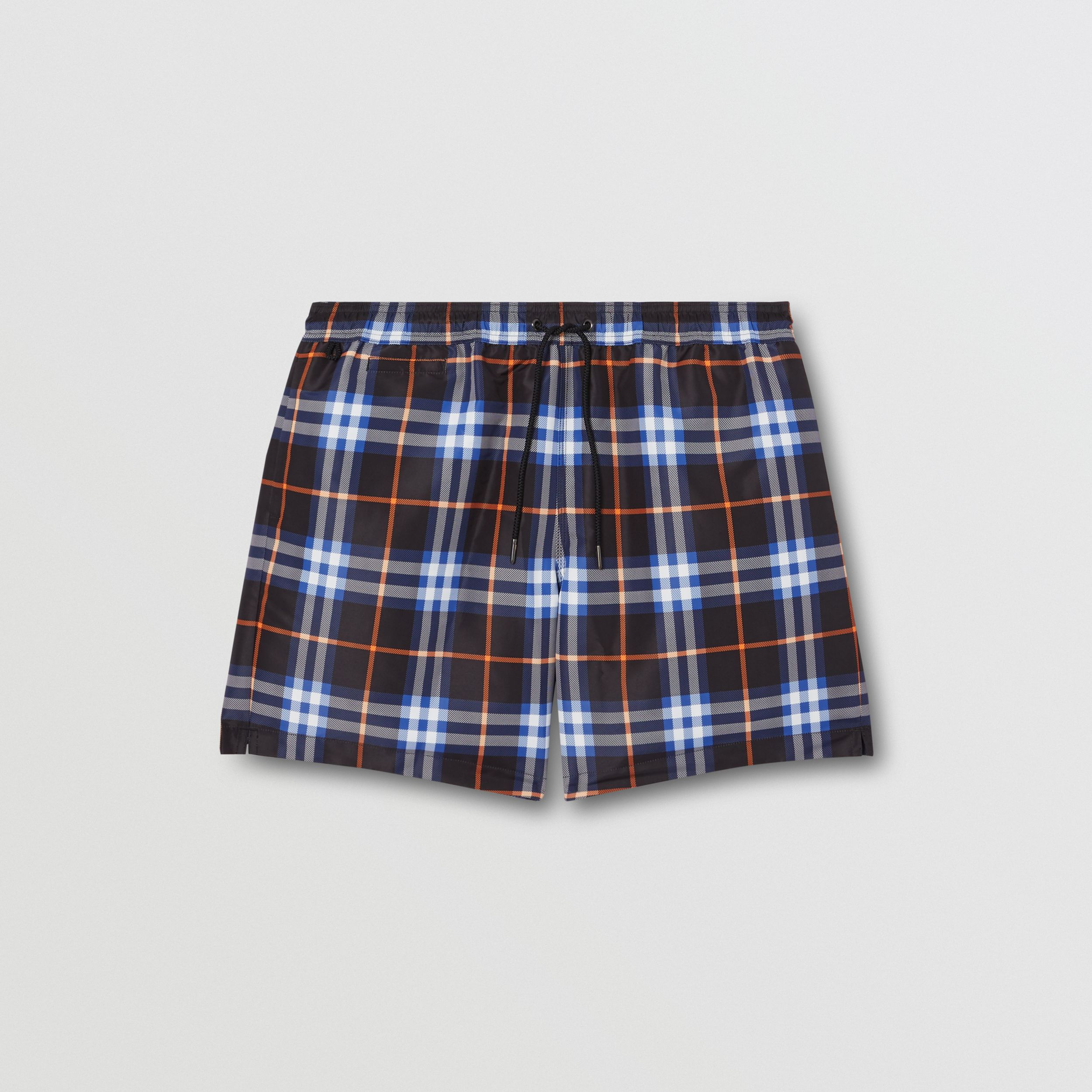 Check Drawcord Swim Shorts in Melon - Men | Burberry - 3