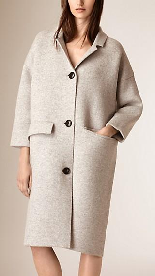 Oversize Wool Cashmere Cardigan Coat