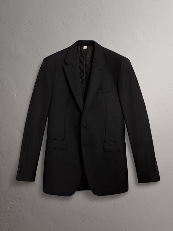 Traje de corte clásico en lana (Negro) - Hombre | Burberry - cell image 3