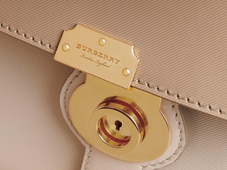 The Medium DK88 Top Handle Bag Limestone/honey - cell image 1