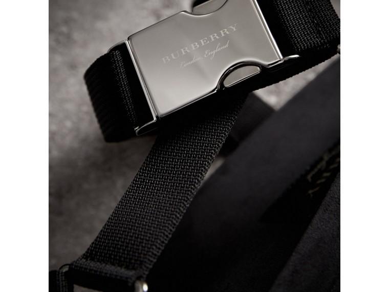 三點式繫帶防撕材質涼鞋 (黑色) - 男款 | Burberry - cell image 1