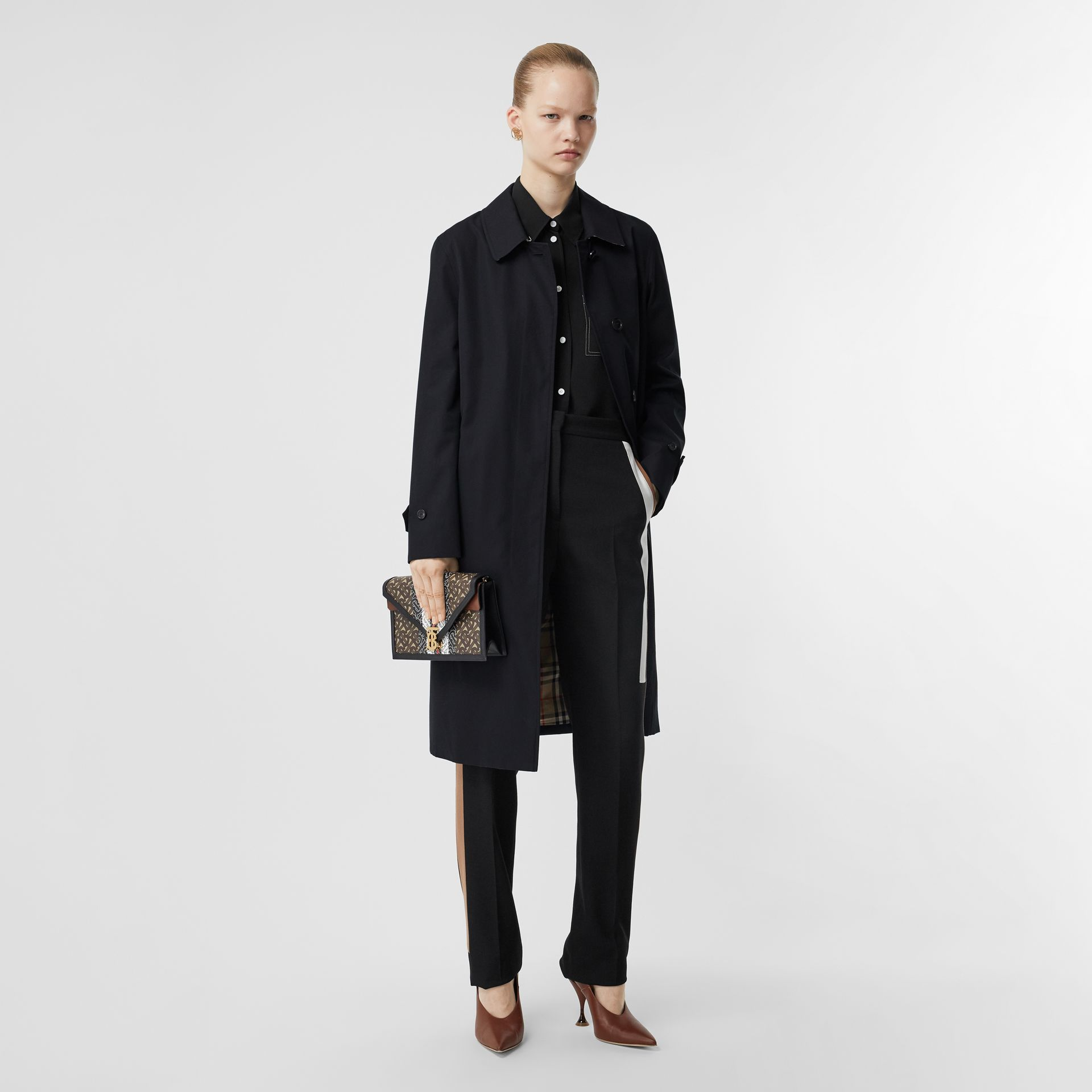 The Pimlico Heritage Car Coat in Midnight - Women | Burberry United Kingdom - gallery image 0