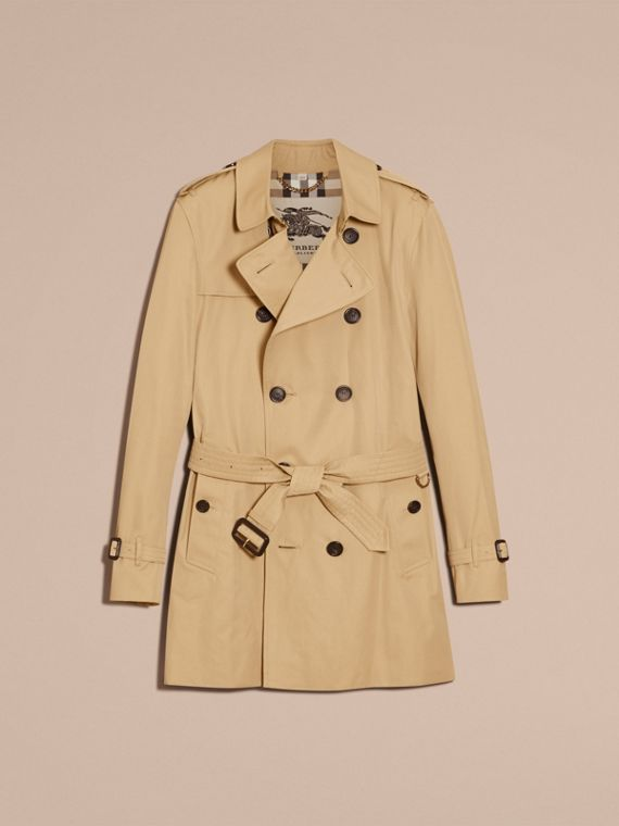 Miel Trench coat Kensington - Trench coat Heritage de longitud media Miel - cell image 3
