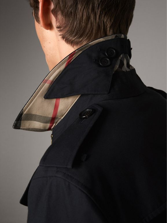 The Chelsea – Mid-length Trench Coat in Navy - Men | Burberry - cell image 1