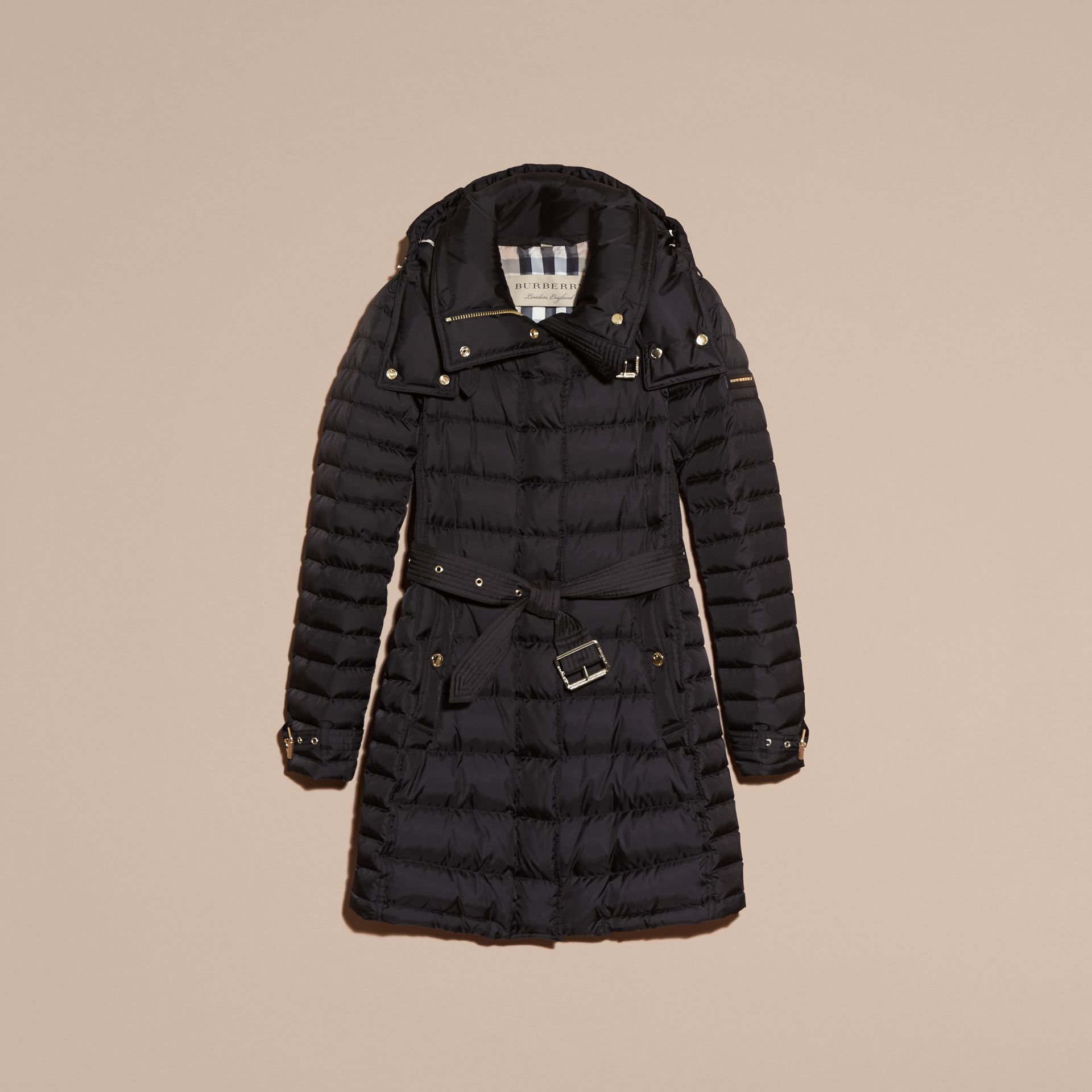 Down-filled Puffer Coat with Packaway Hood - Women | Burberry - gallery image 4
