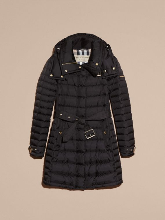 Down-filled Puffer Coat with Packaway Hood - Women | Burberry - cell image 3