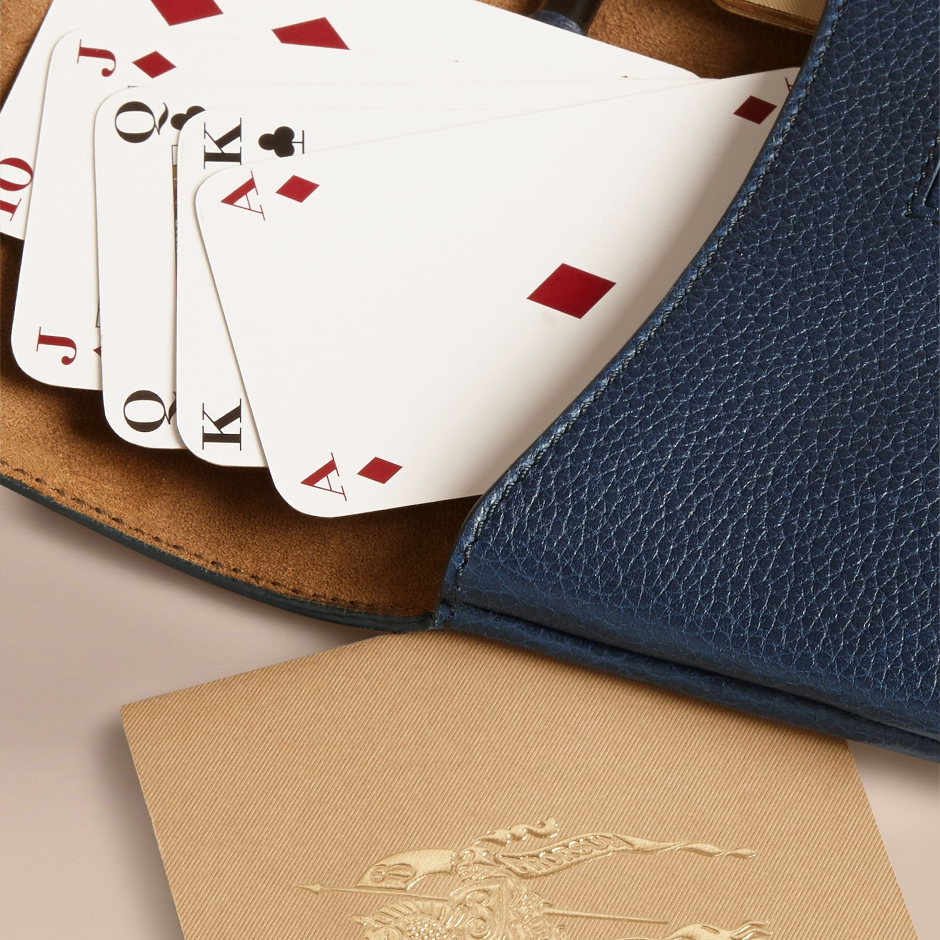 Set carte da bridge (Navy Intenso) | Burberry - immagine della galleria 2