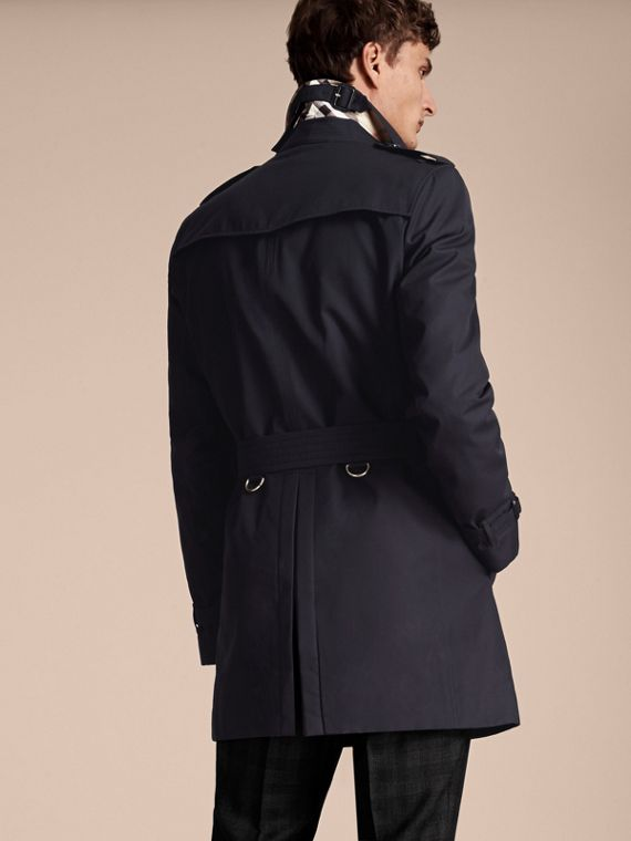Navy The Chelsea – Mid-length Heritage Trench Coat Navy - cell image 2