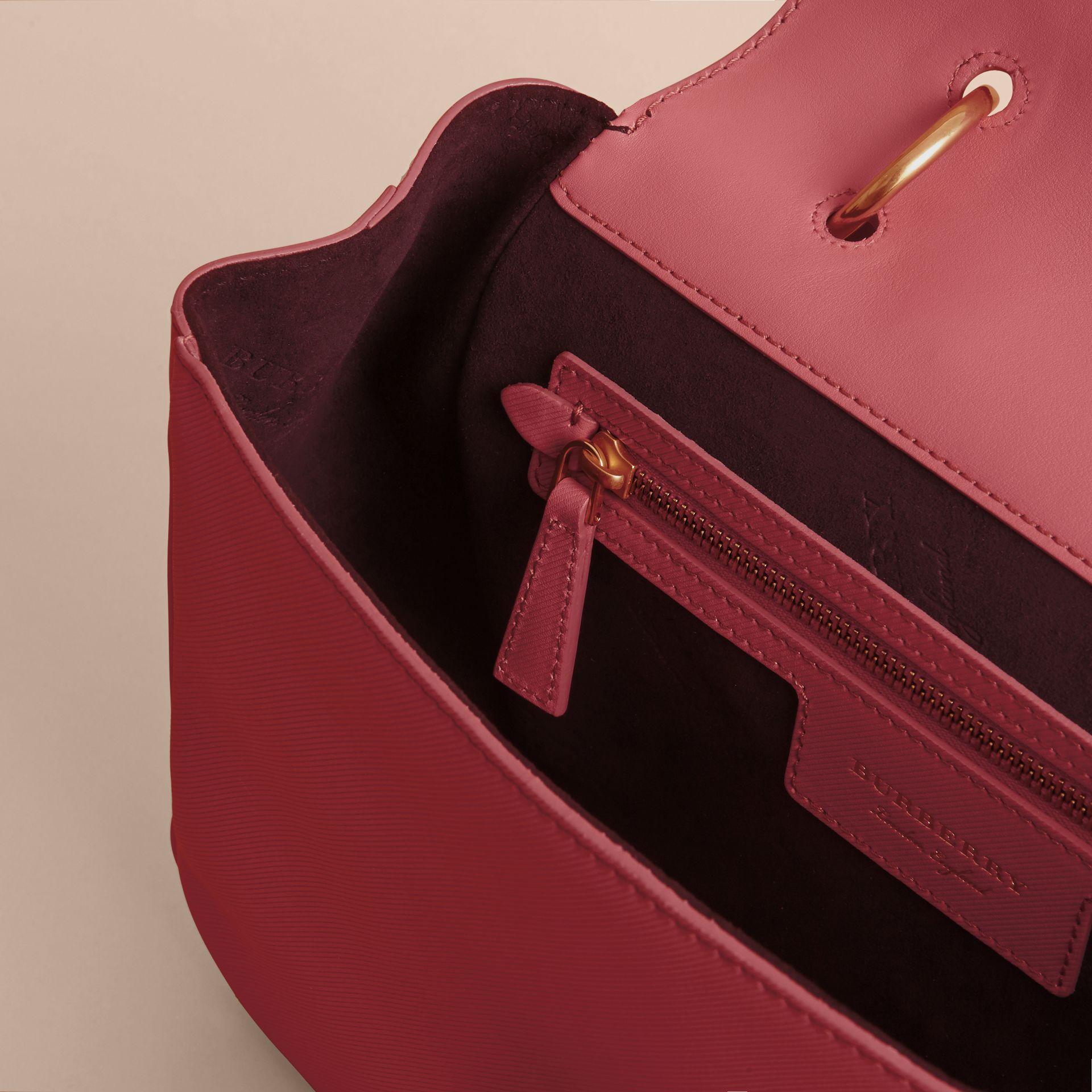 The Medium DK88 Top Handle Bag Blossom Pink - gallery image 6