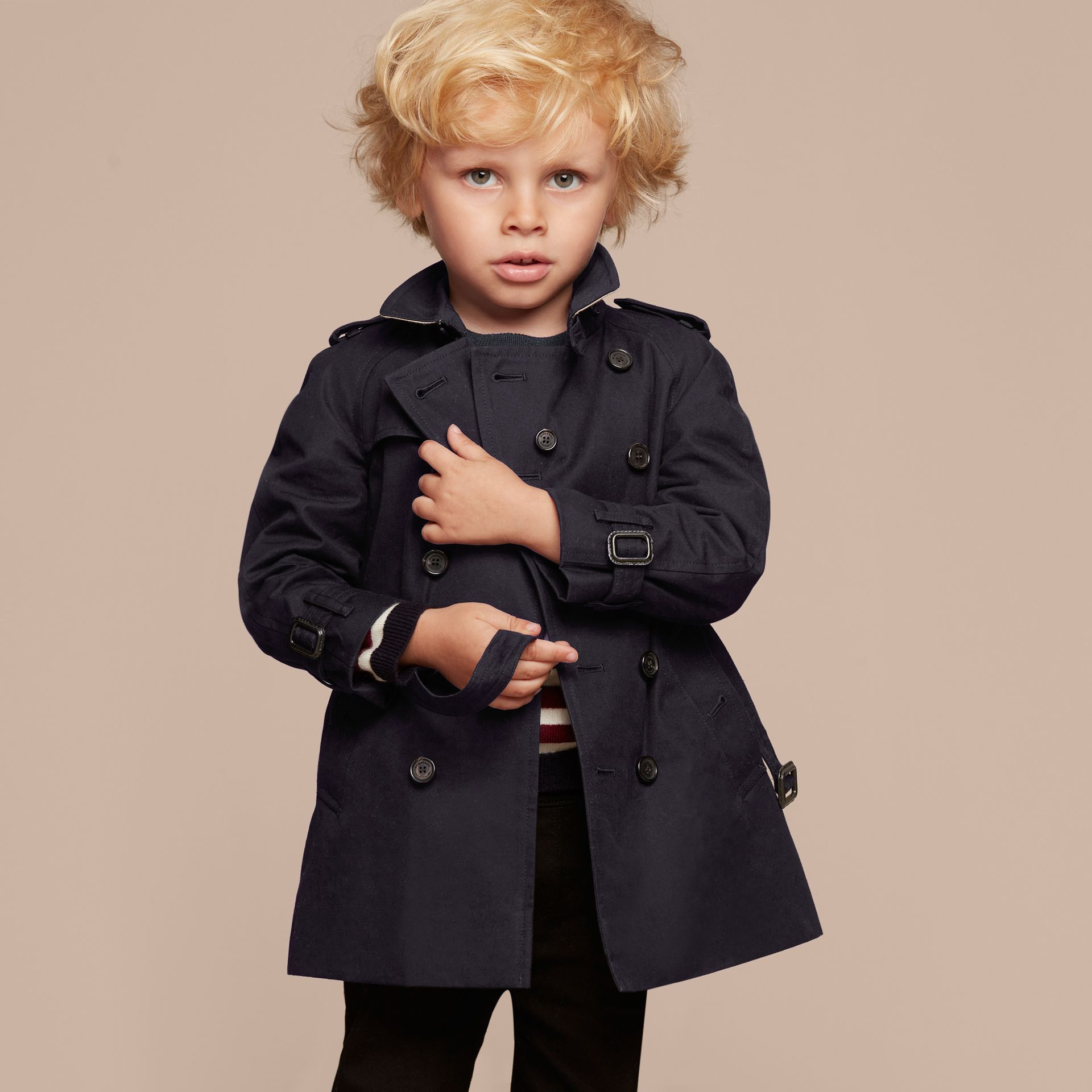 The Wiltshire - Trench coat Heritage (Navy) - immagine della galleria 7