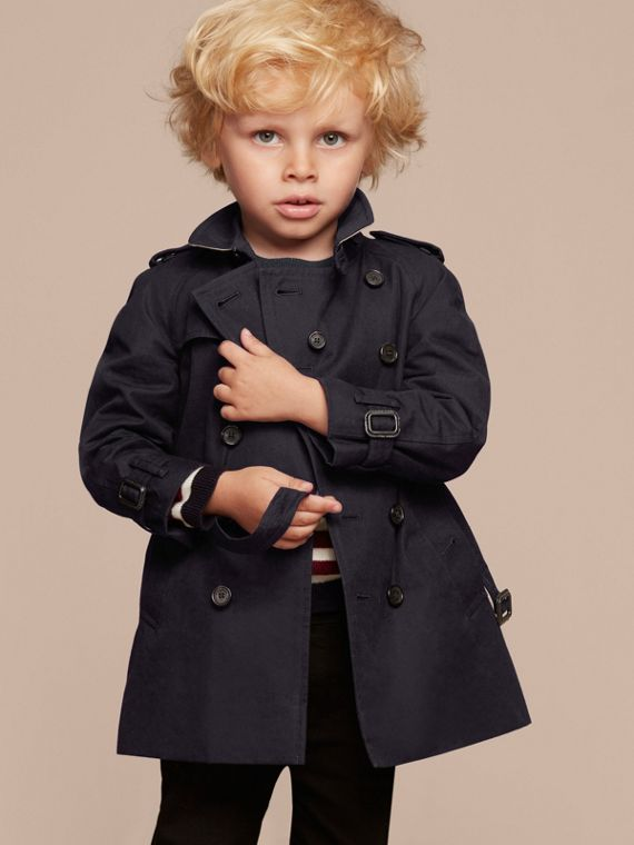 The Wiltshire – Heritage Trench Coat in Navy | Burberry Australia