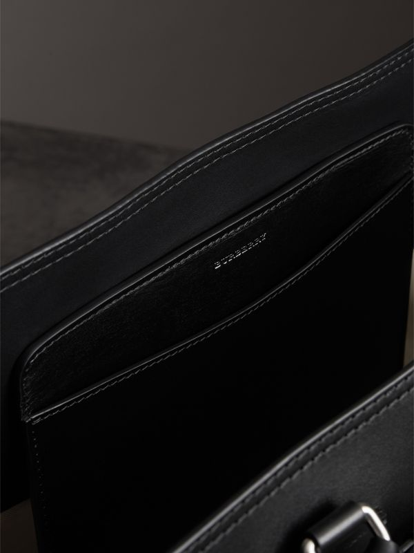 The Medium Canvas and Leather Belt Bag in Black/stone - Women | Burberry - cell image 3