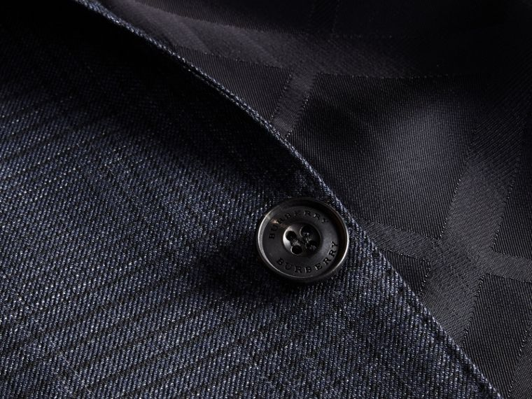 Modern Fit Wool Silk Blend Half-canvas Suit - cell image 1