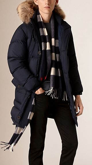 Fur Trim Down-Filled Parka