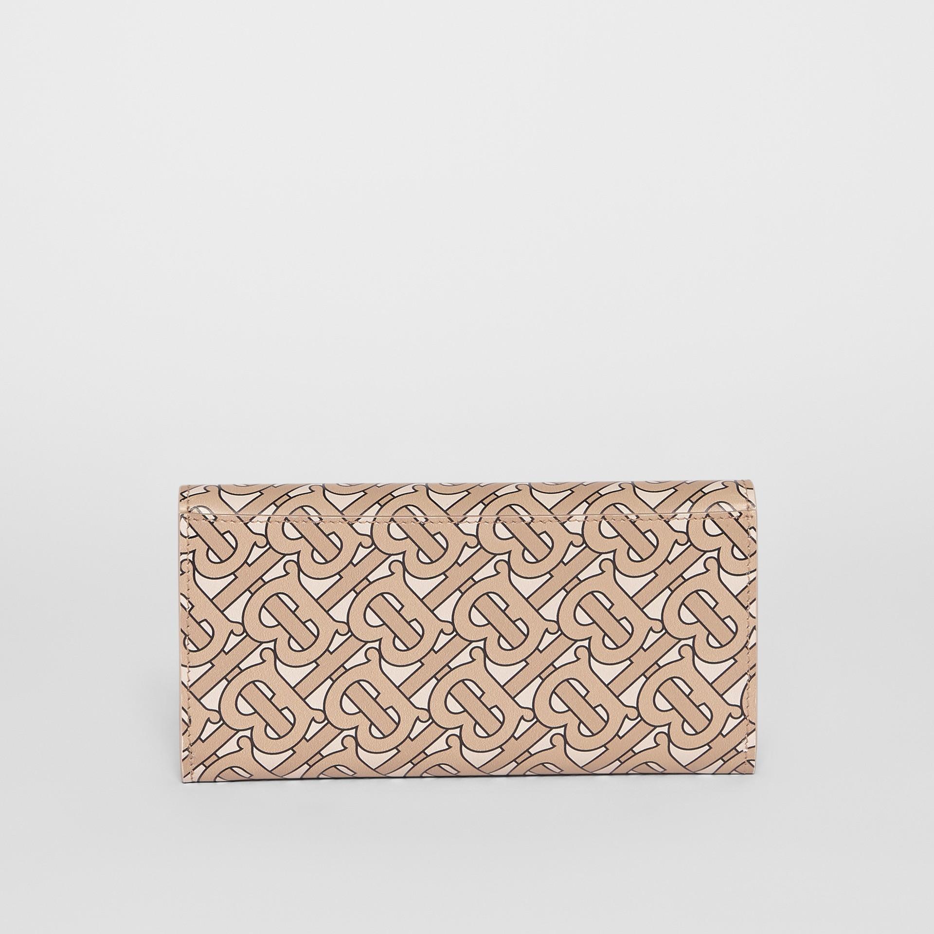 Lederbrieftasche mit Monogrammmuster (Beige) - Damen | Burberry - Galerie-Bild 5