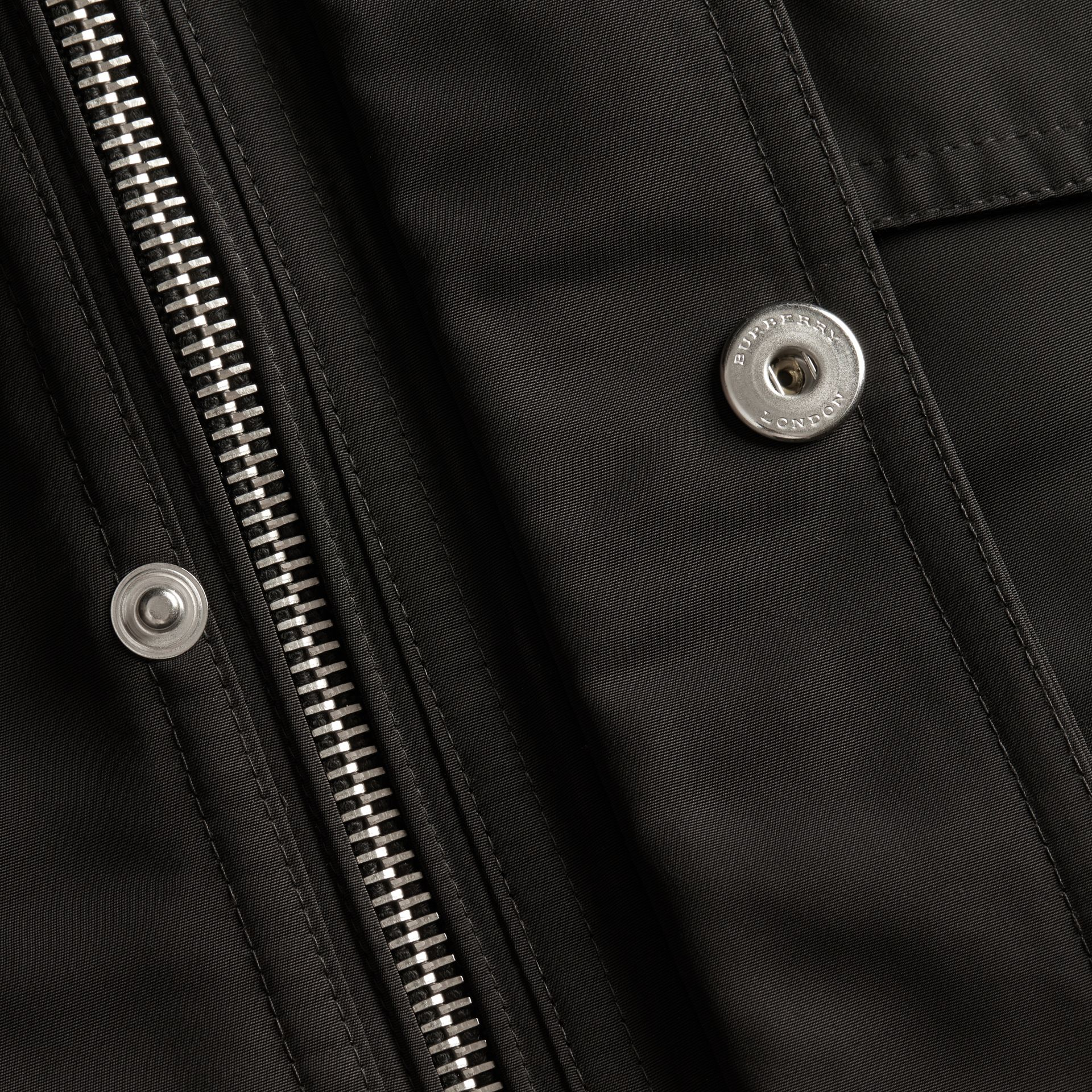 Black Packaway Hood Field Jacket - gallery image 2