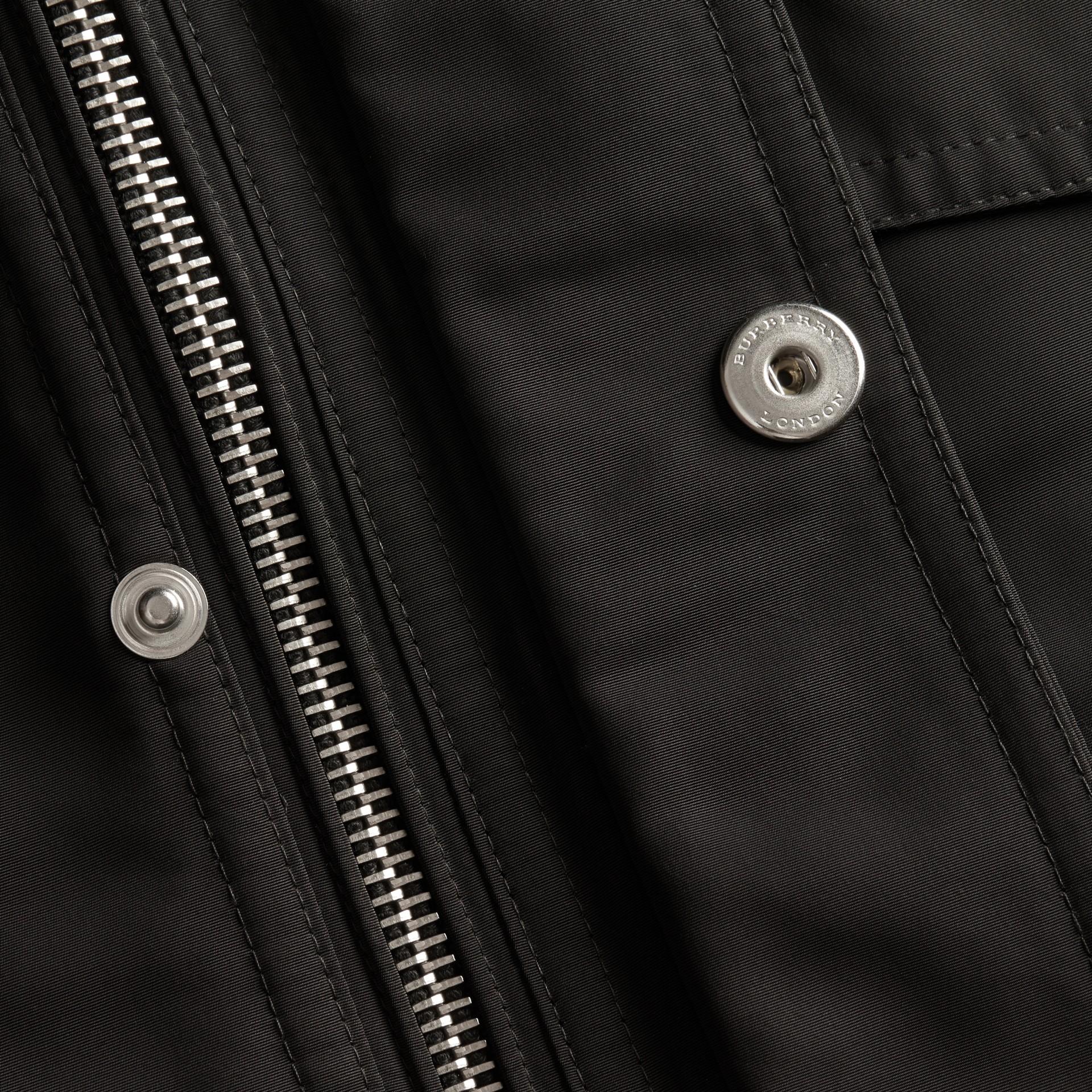 ブラック パックアウェイフード・フィールドジャケット - ギャラリーイメージ 2