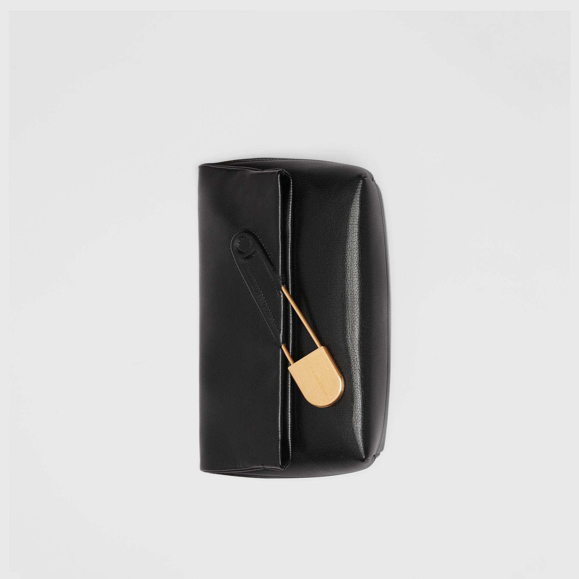 The Medium Pin Clutch aus Lackleder (Schwarz) - Damen | Burberry - Galerie-Bild 2
