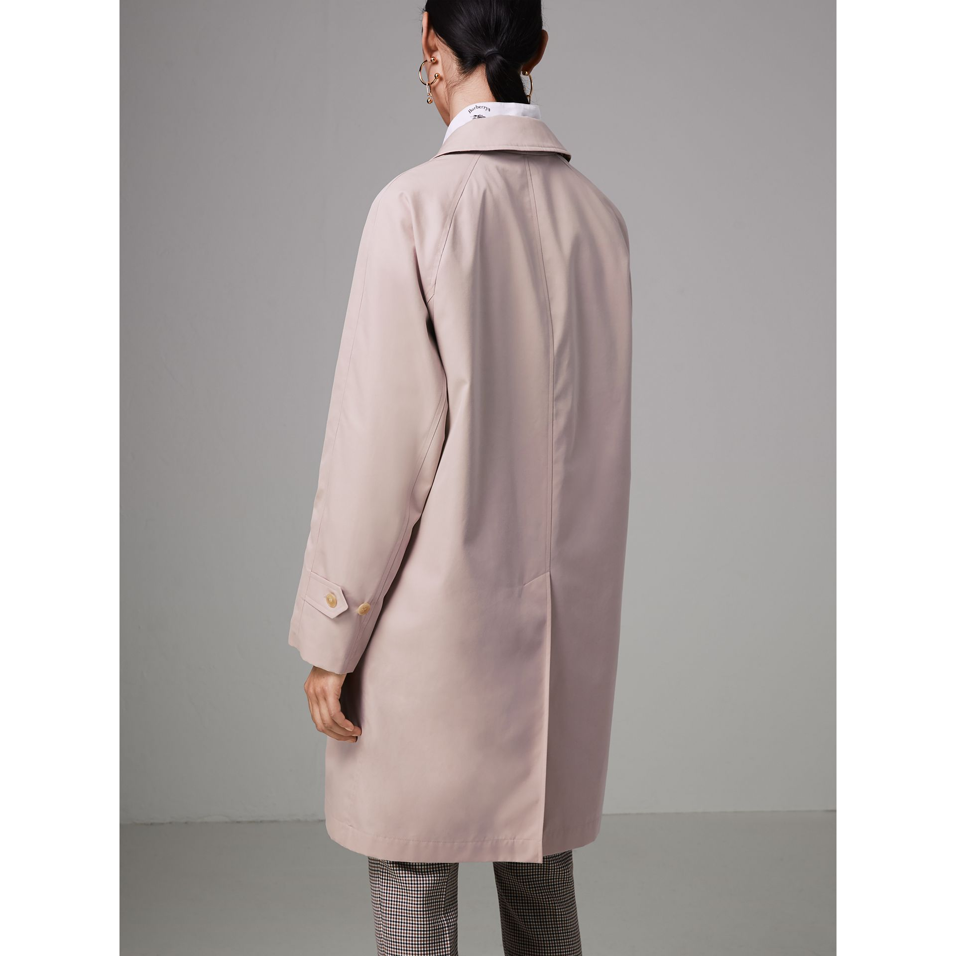 The Camden Car Coat in Ice Pink - Women | Burberry - gallery image 2