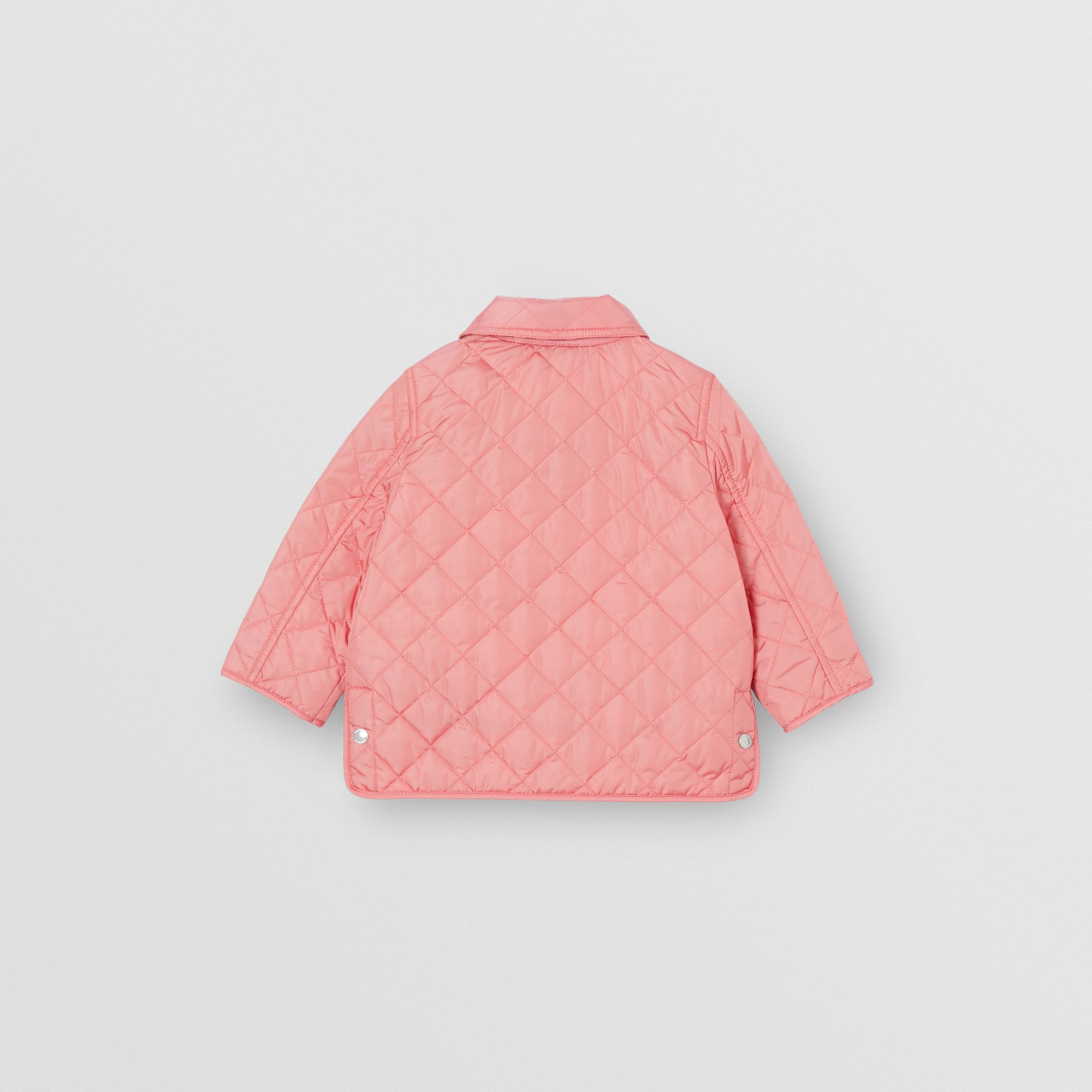 Lightweight Diamond Quilted Jacket in Dusty Pink - Children | Burberry - gallery image 3