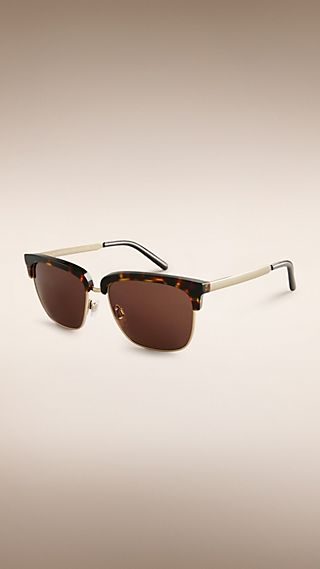 Trench Collection Square Frame Sunglasses