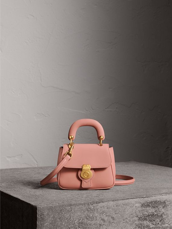 The Mini DK88 Top Handle Bag in Ash Rose