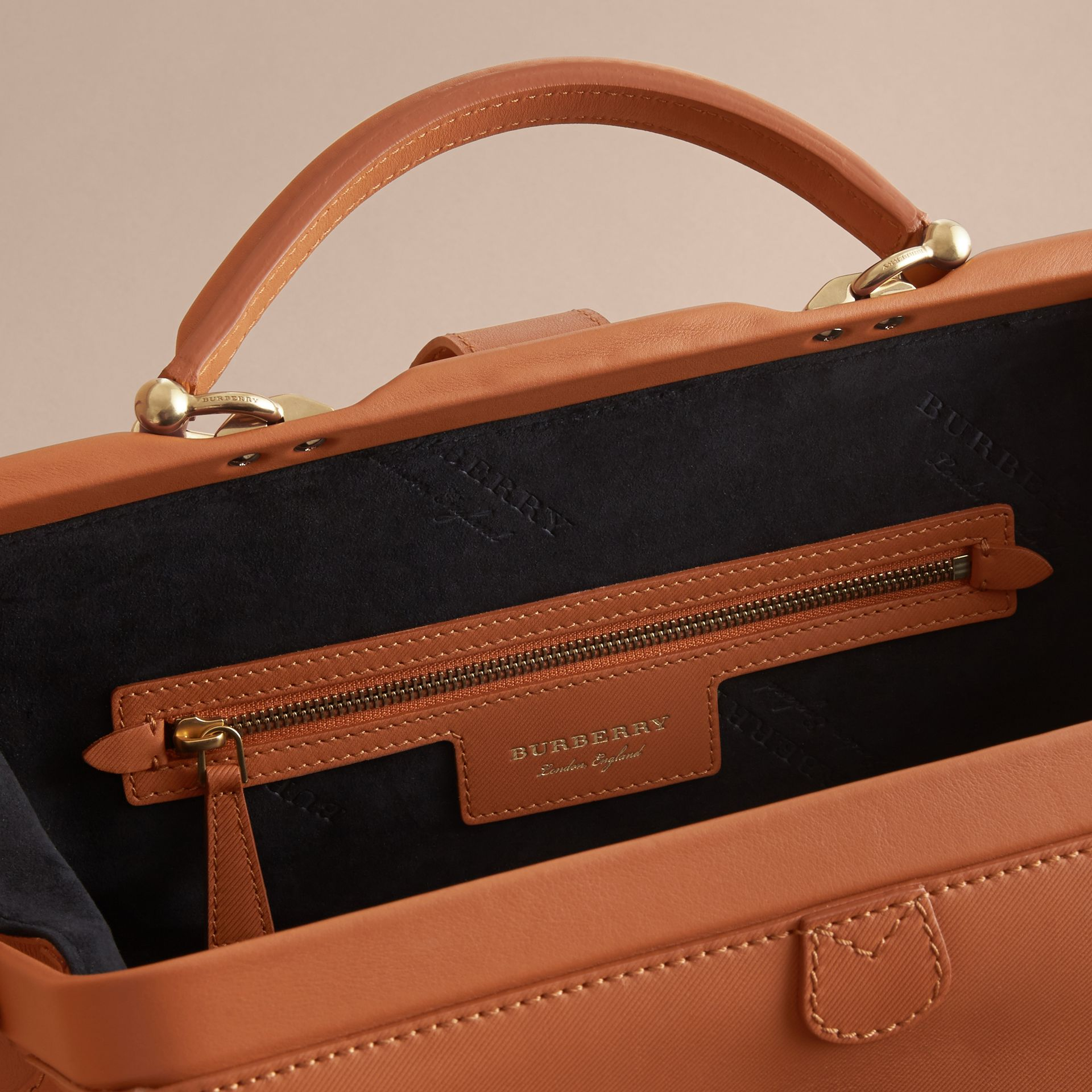 The DK88 Bowling Bag in Bright Toffee - Women | Burberry - gallery image 5