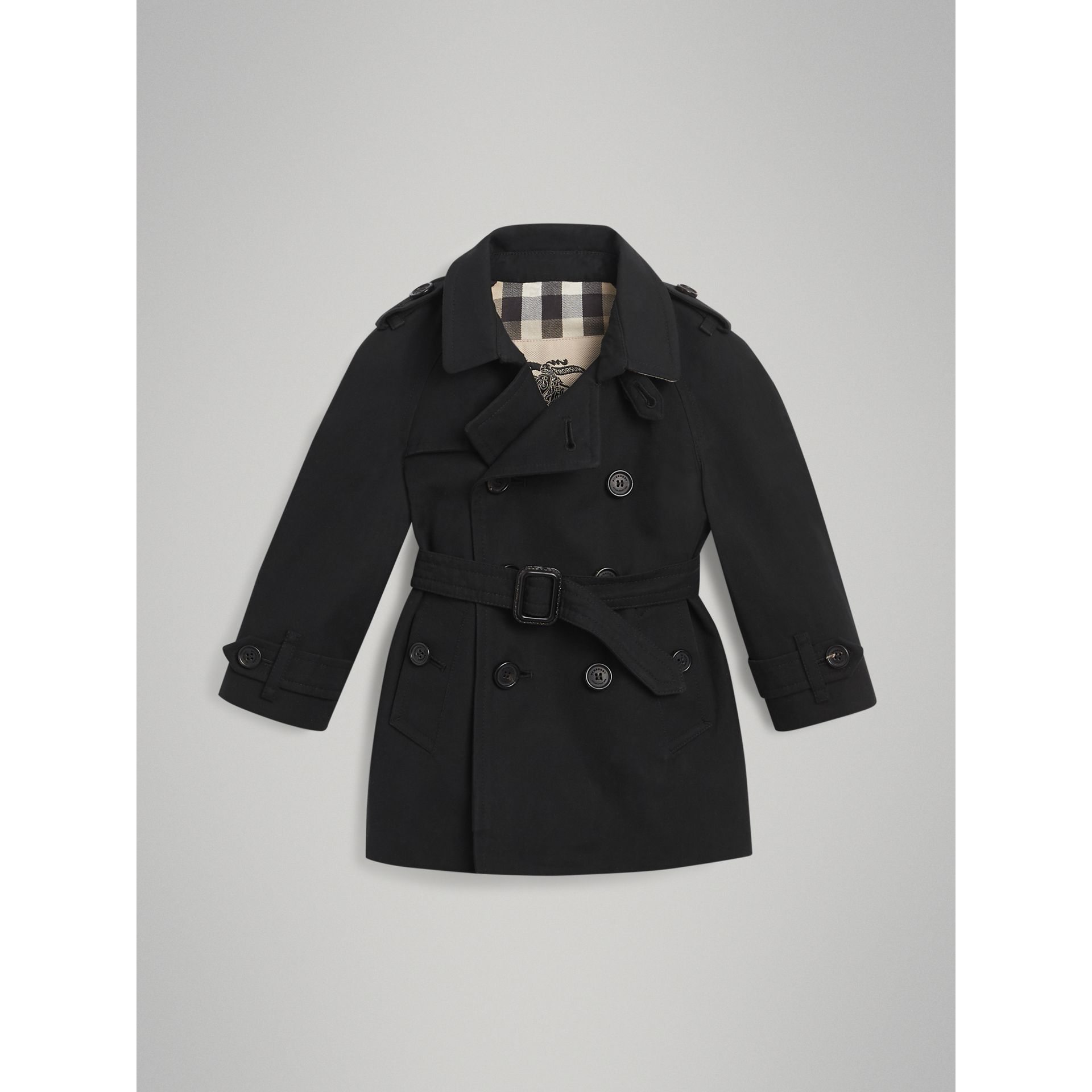 The Wiltshire – Trenchcoat (Schwarz) | Burberry - Galerie-Bild 2
