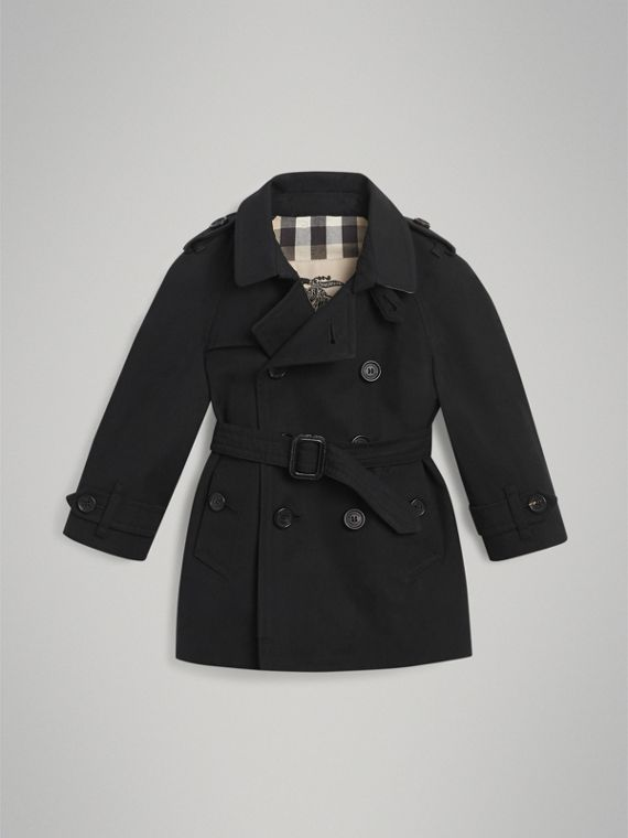 The Wiltshire Trench Coat in Black | Burberry Singapore - cell image 2