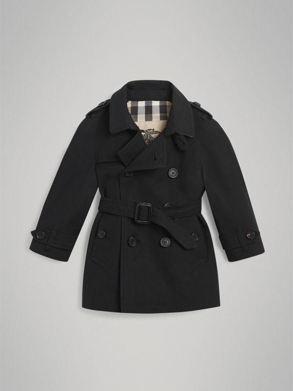 The Wiltshire 風衣 (黑色) | Burberry - cell image 2