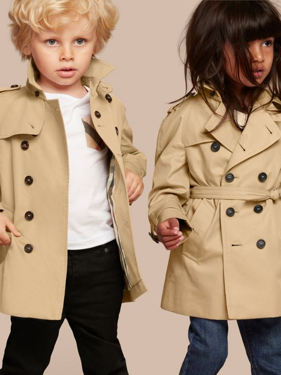 The Wiltshire – Heritage Trench Coat in Honey | Burberry