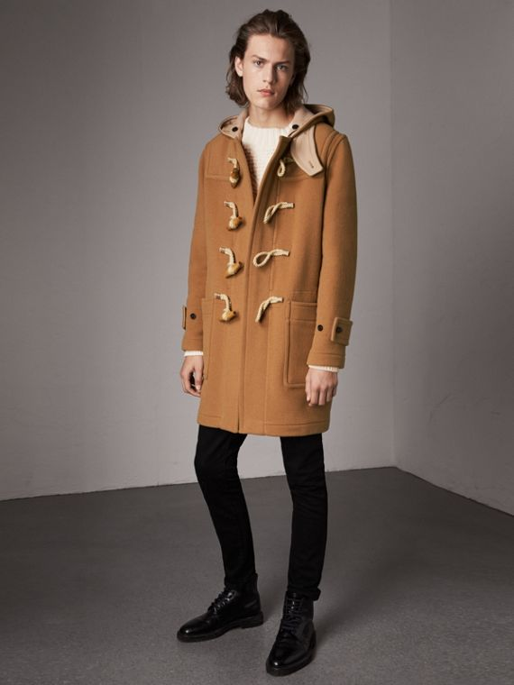 Duffle coat The Greenwich (Camel Médio)