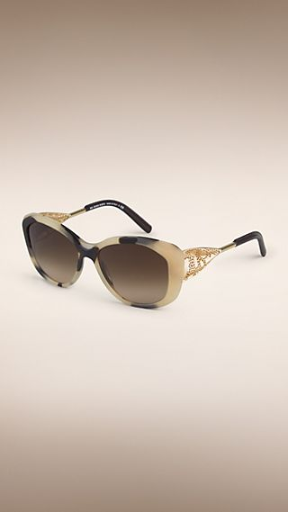 Солнцезащитные очки из коллекции Gabardine Lace