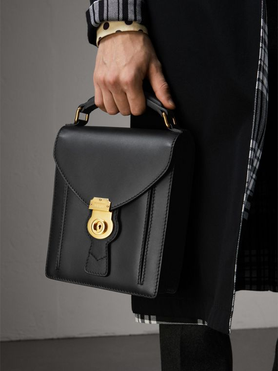 The Small DK88 Satchel in Black - Men | Burberry United States - cell image 2