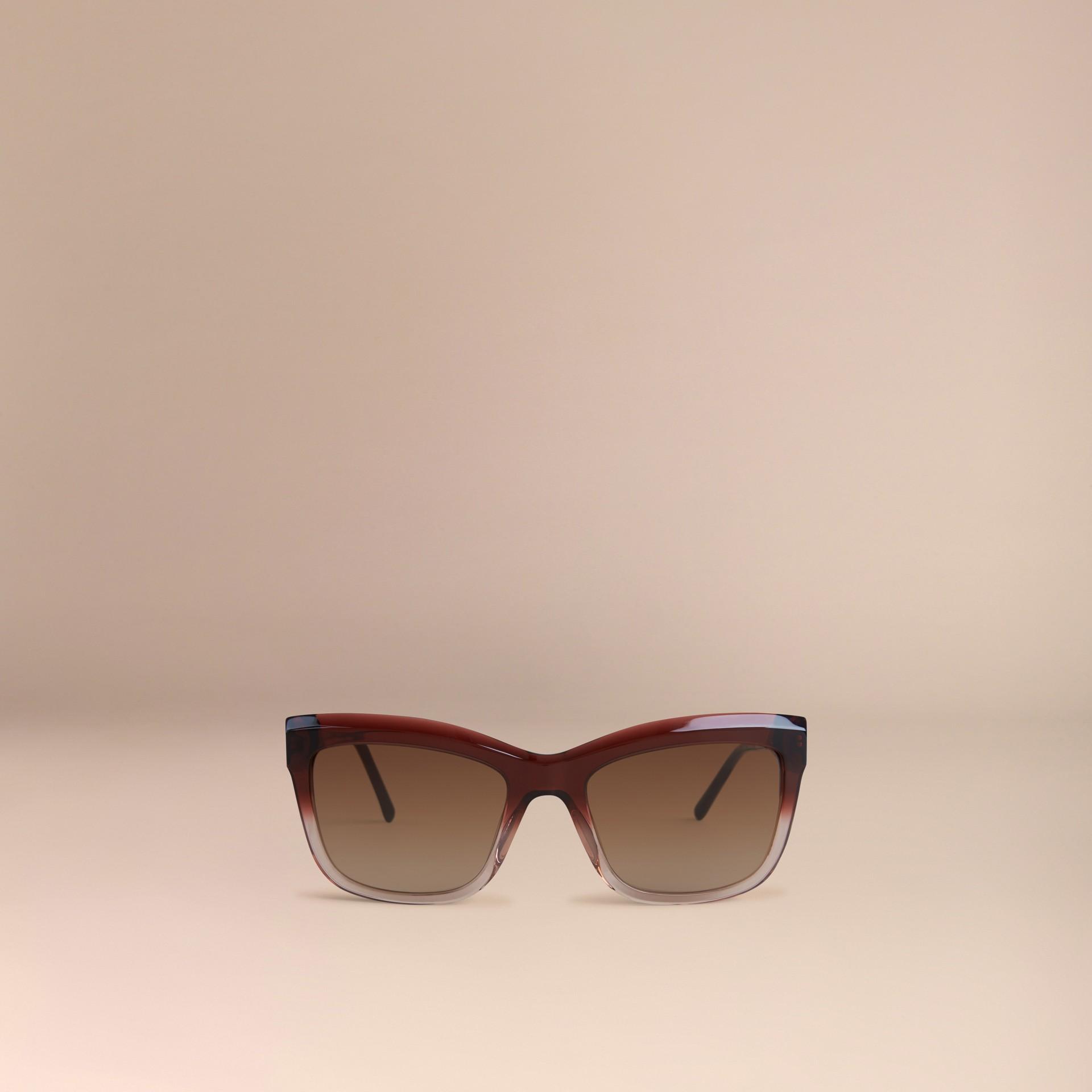 Темный армейский красный Солнцезащитные очки из коллекции Gabardine Lace Темный Армейский Красный - изображение 3